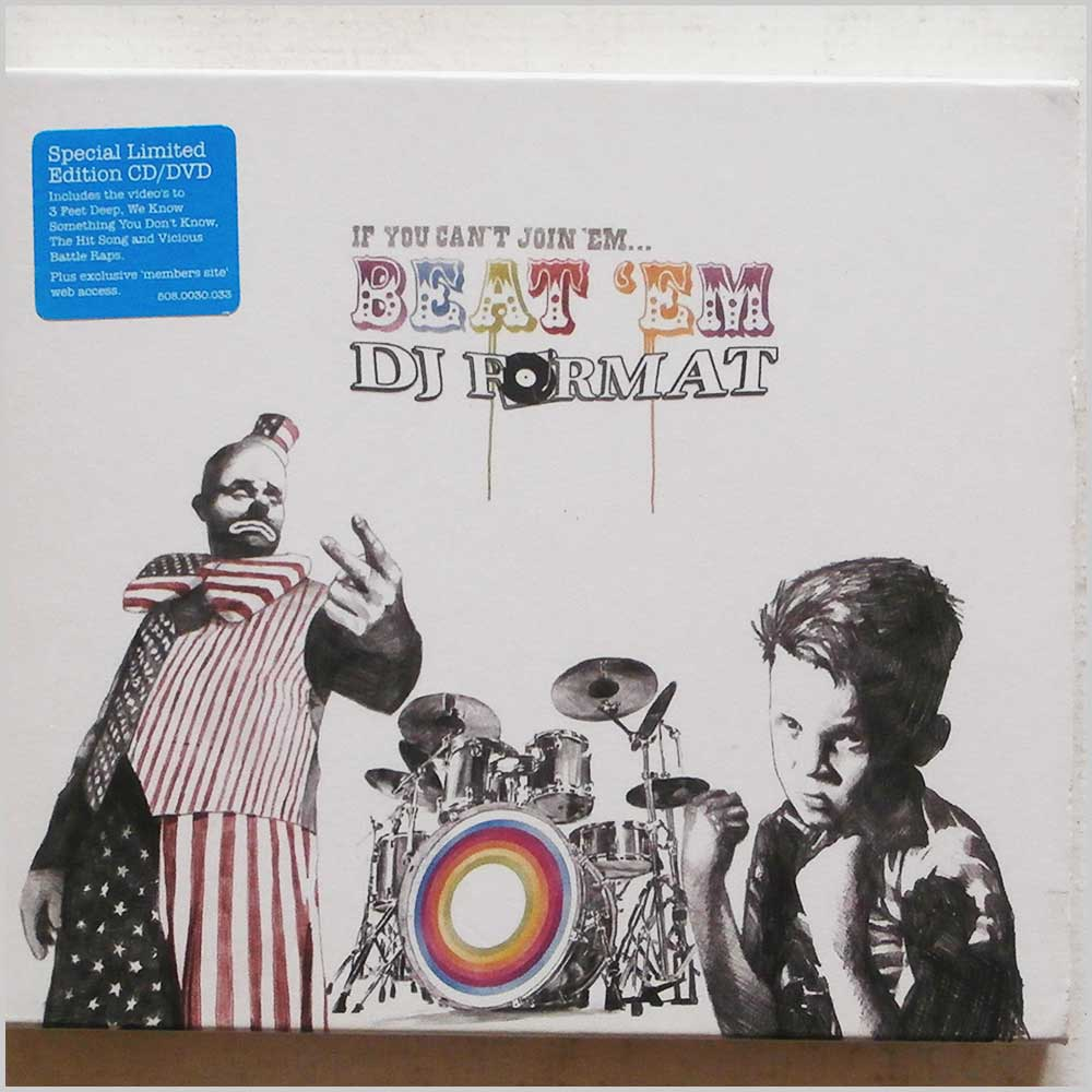 DJ Format - If You Can't Join 'Em, Beat 'Em (5413356473063)