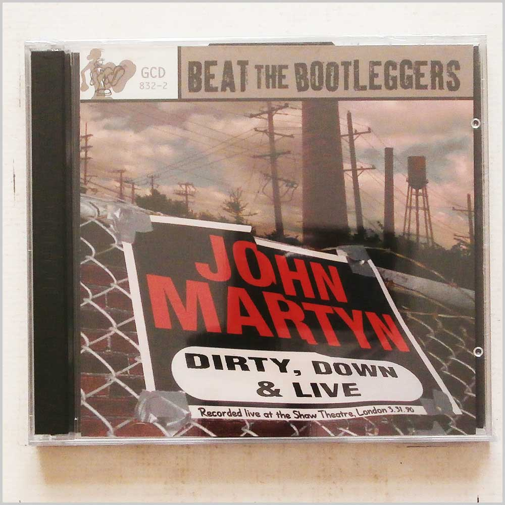JOHN MARTYN - Dirty Down and Live - CD