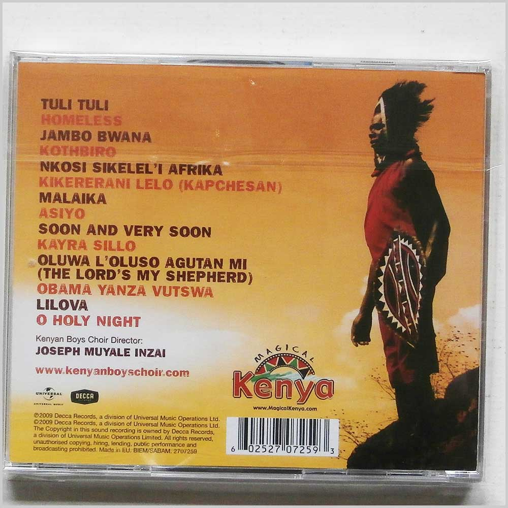 The Kenyan Boys Choir - Spirit Of Africa (602527072593)