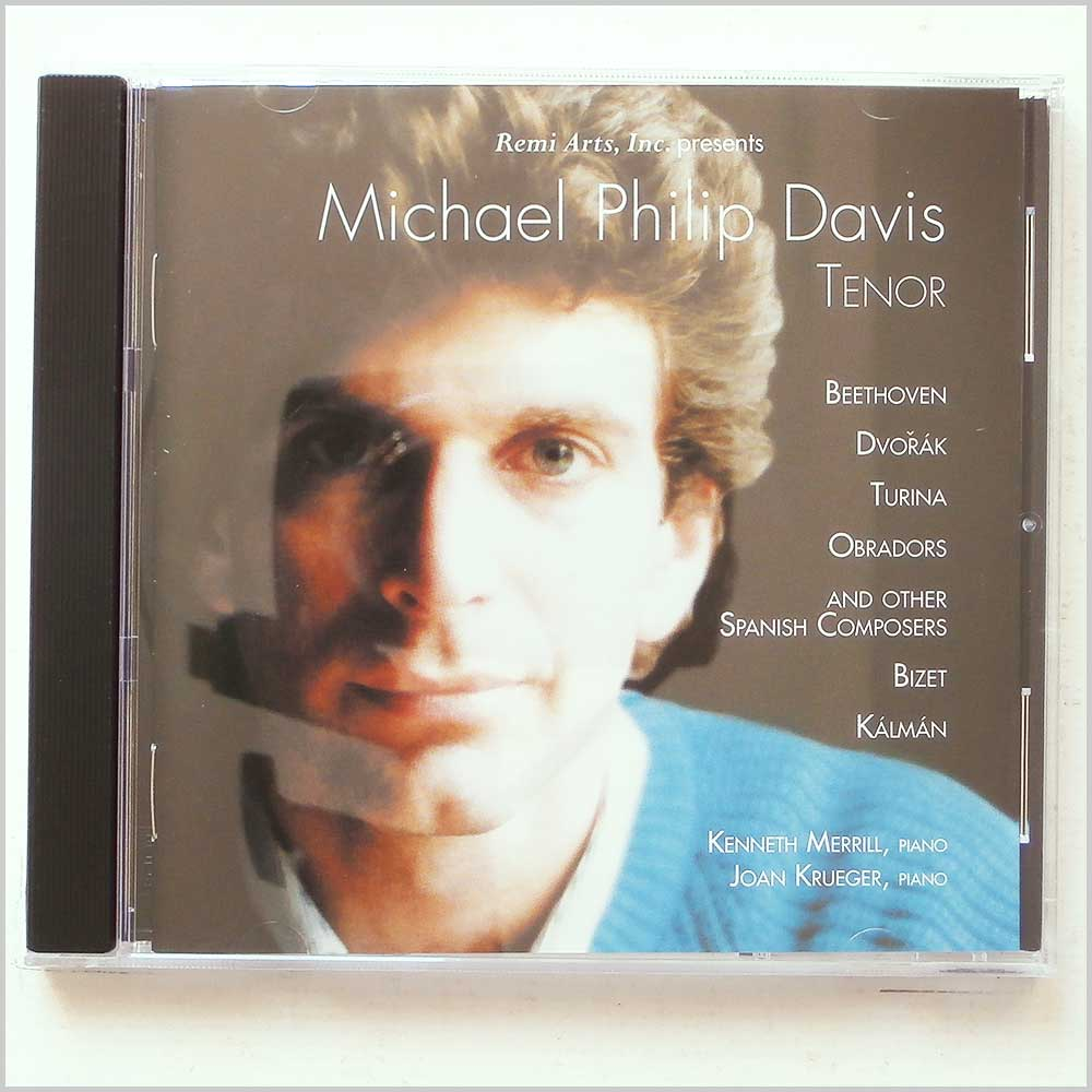 Michael Philip Davis - Beethoven, Dvorak, Turina, Obradors, and other Spanish Composers (616892625629)