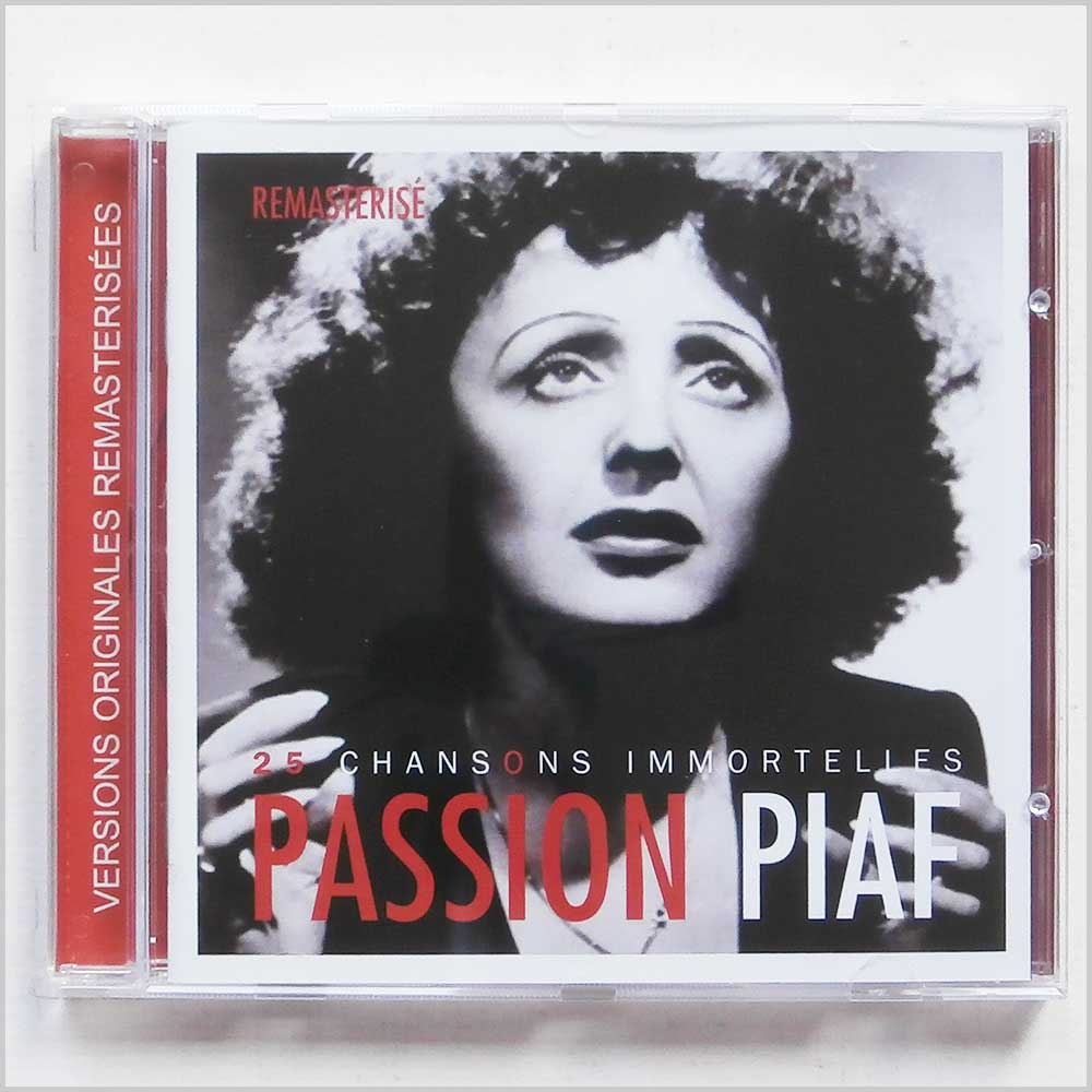 Edith Piaf - Passion Piaf : 25 Chansons Immortelles (619061339822)