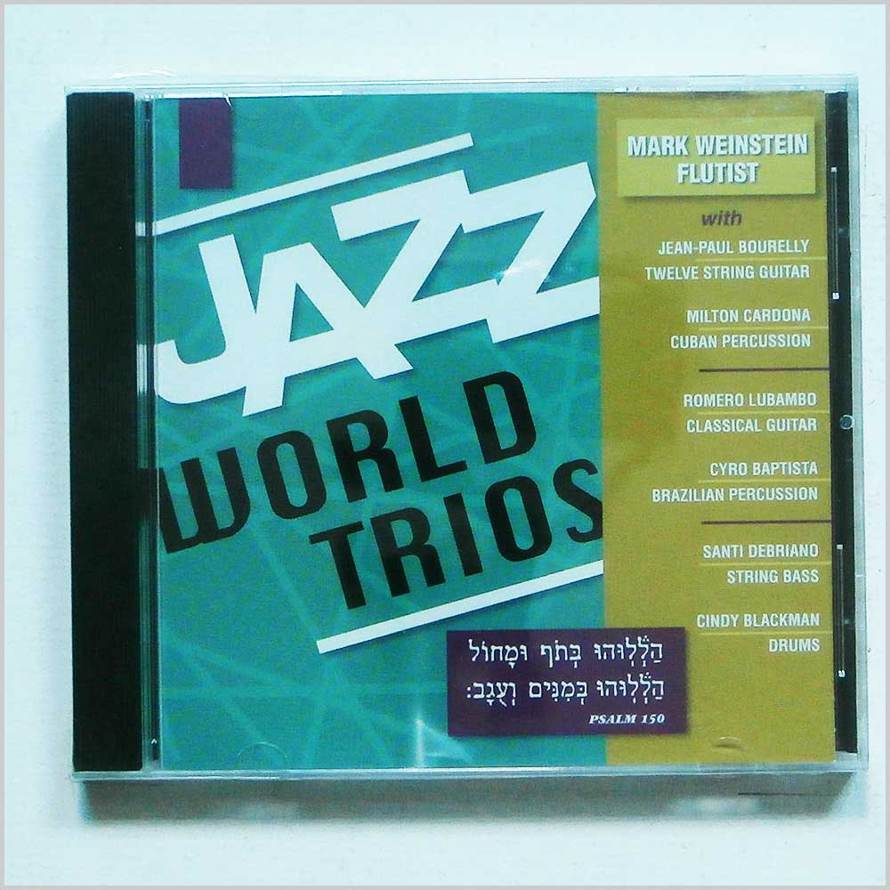 MARK WEINSTEIN - Jazz World Trios - CD