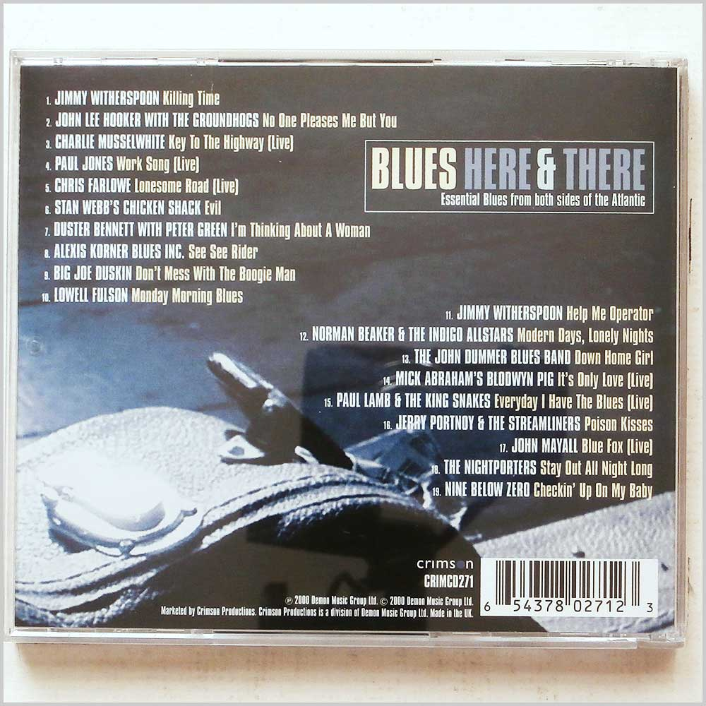 Various - Blues Here and There (654378027123)