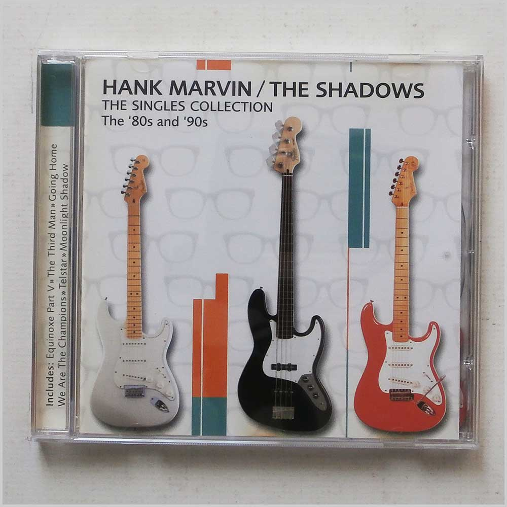 Hank Marvin and The Shadows - The Singles Collection 80's and 90's (654378030222)