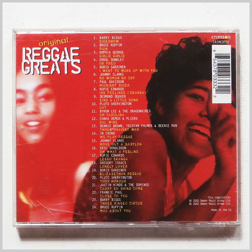 Various - Original Reggae Greats (654378033322)