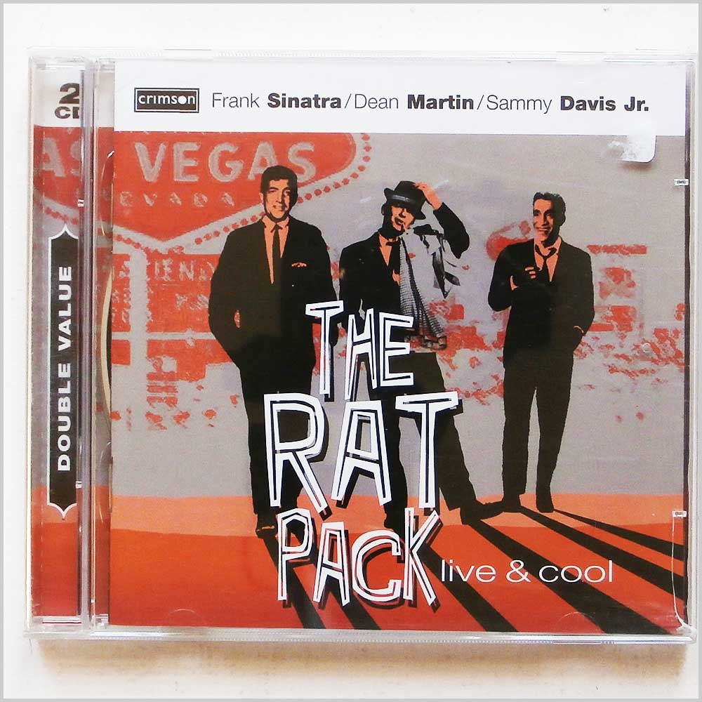 Frank Sinatra - The Rat Pack Live and Cool (654378038426)