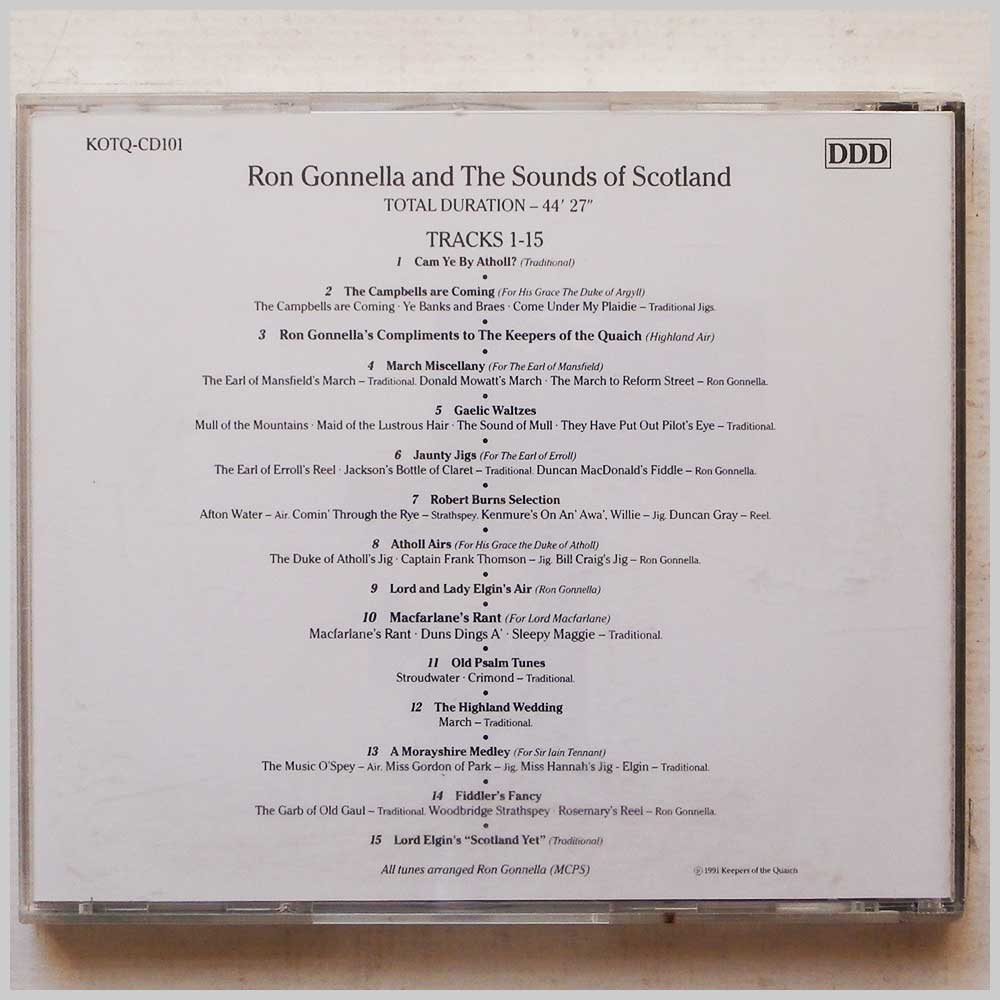 Ron Gonella and the Sounds of Scotland - Keepers Of The Quaich (689279385256)