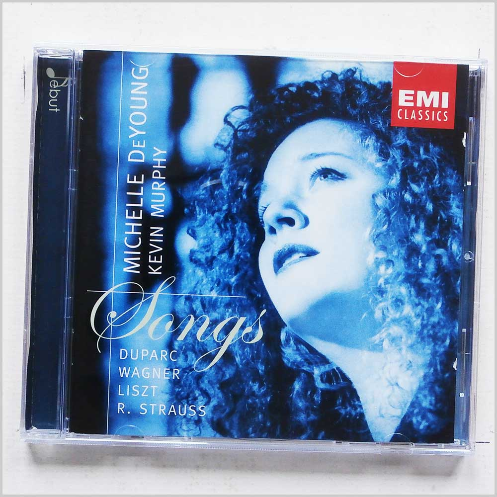Michelle Deyoung, Kevin Murphy - Songs: Duparc, Wagner, Liszt, R. Strauss (689279389780)