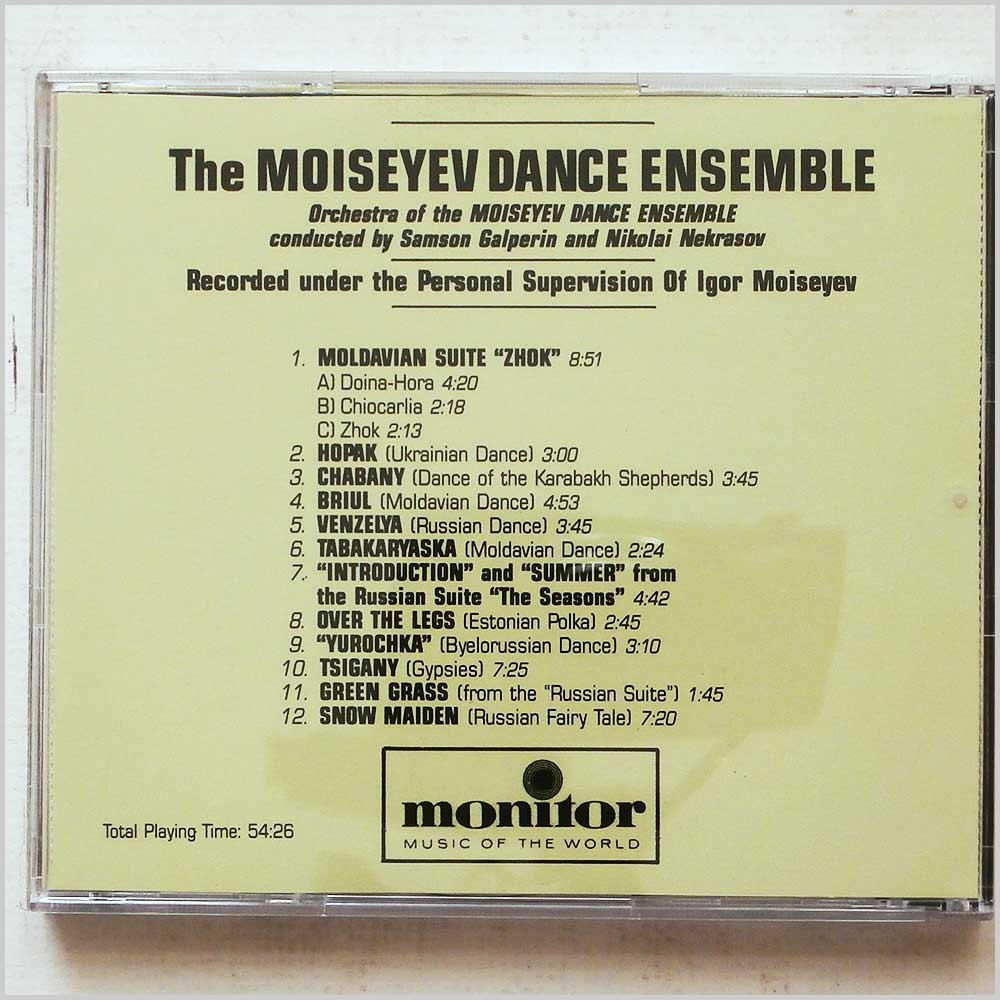 The Moiseyev Dance Ensemble - Moiseyev (689279402731)
