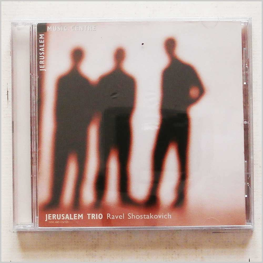 JERUSALEM TRIO - Ravel, Shostakovich - CD