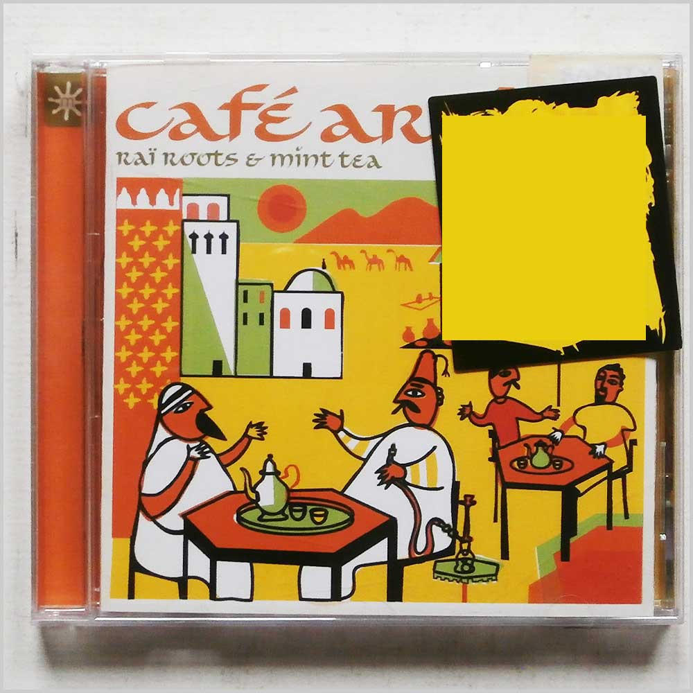 Various - Cafe Arabia: Rai Roots and Mint Tea (698458108623)