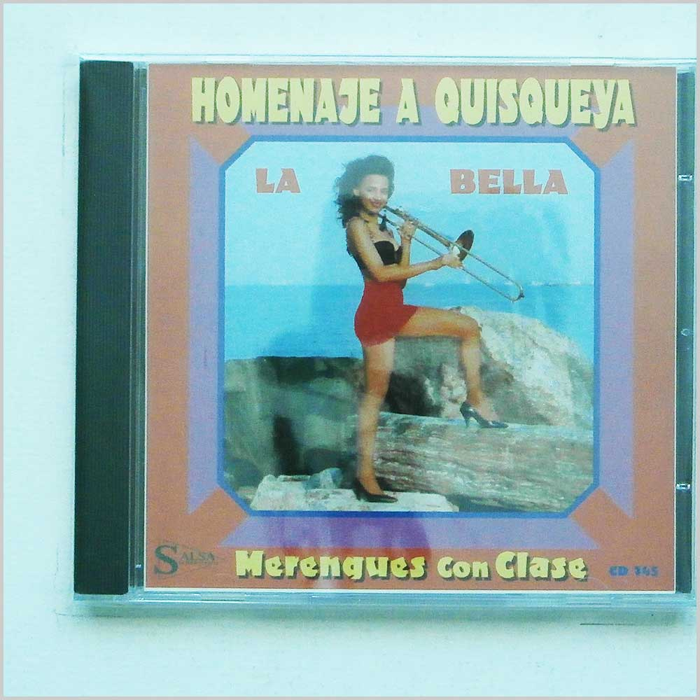 BOBBY QUESADA Y SU ORQUESTA - Homenaje A Quisqueya Merengues Con Clase - CD