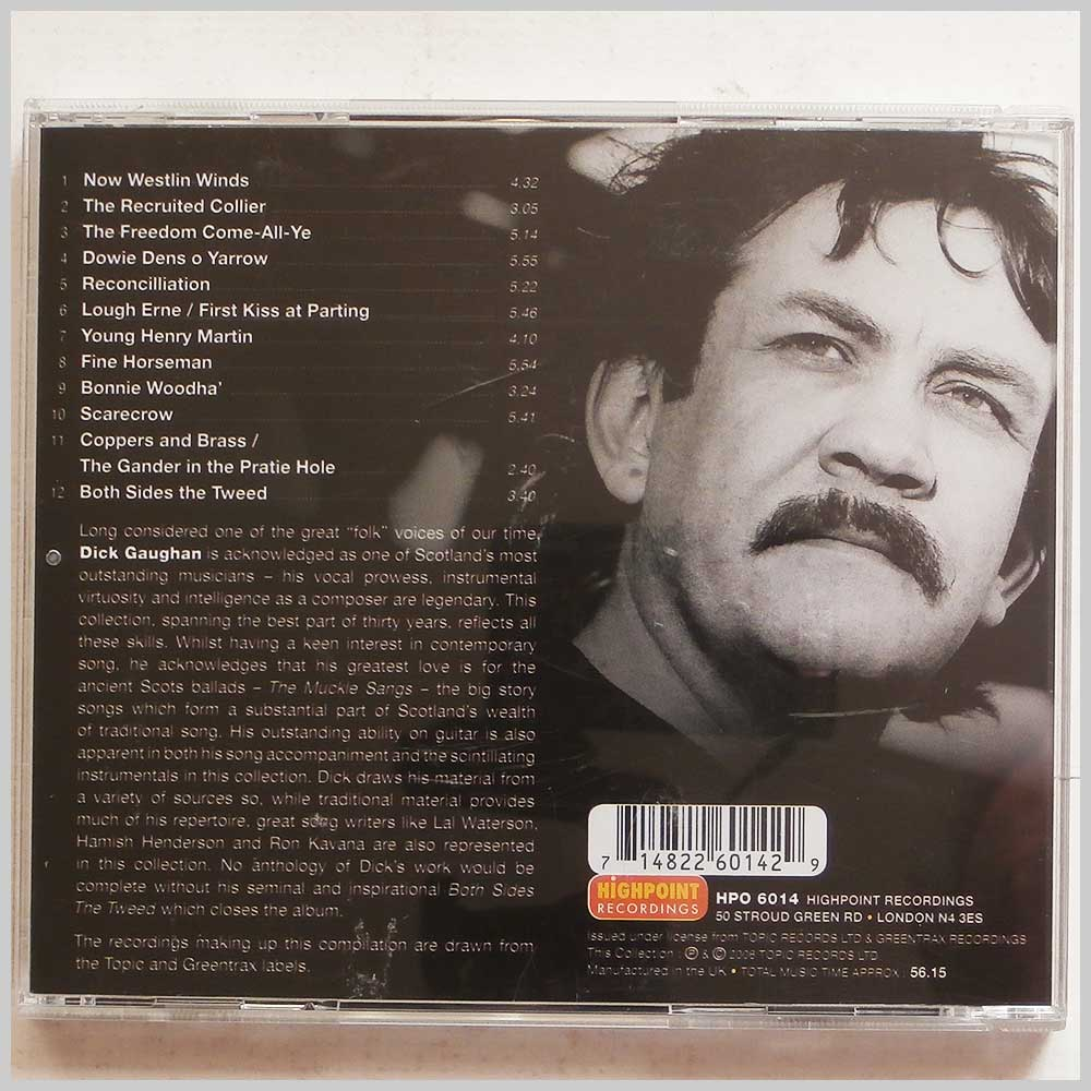 Dick Gaughan - The Definitive Collection (714822601429)