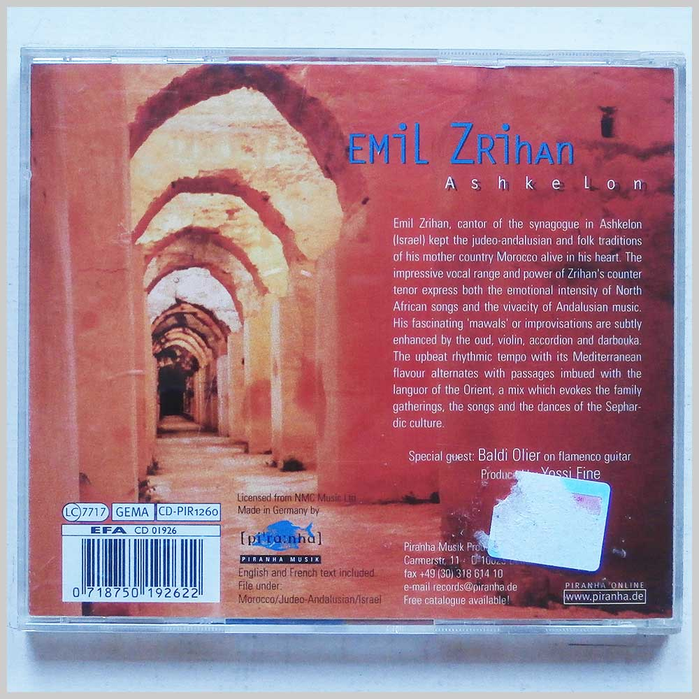Emil Zrihan World Roots Music Music CDs and DVDs for sale