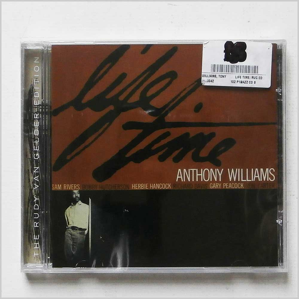 ANTHONY WILLIAMS - Life Time (The Rudy Van Gelder Edition) - CD
