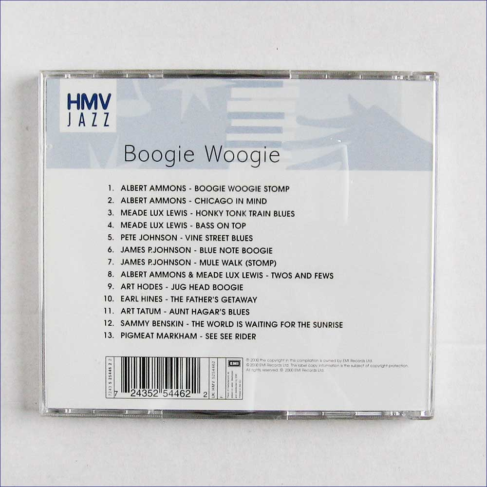 Various - The Boogie Woogie Collection (724352544622)