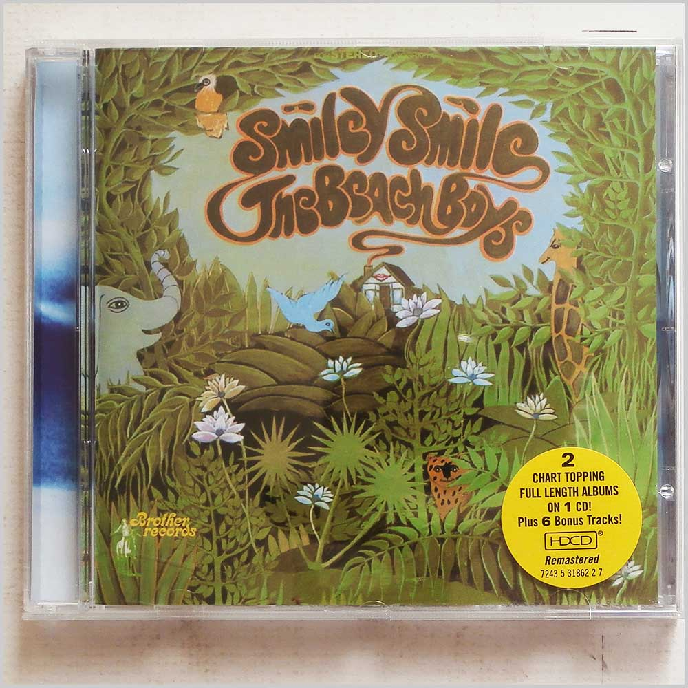 The Beach Boys - Smiley Smile, Wild Honey (724353186227)