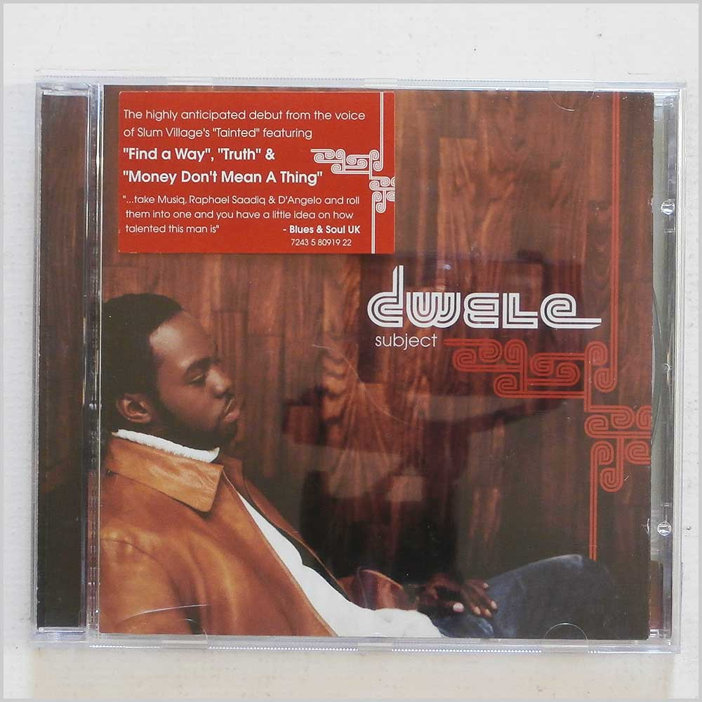 Dwele - Subject (724358091922)