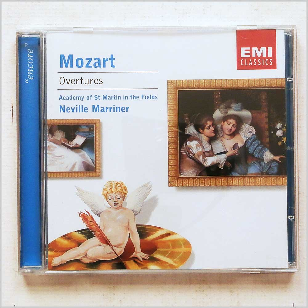Sir Neville Marriner, Academy of Saint-Martin-in-the-fields - Mozart: Overtures (724358506020)