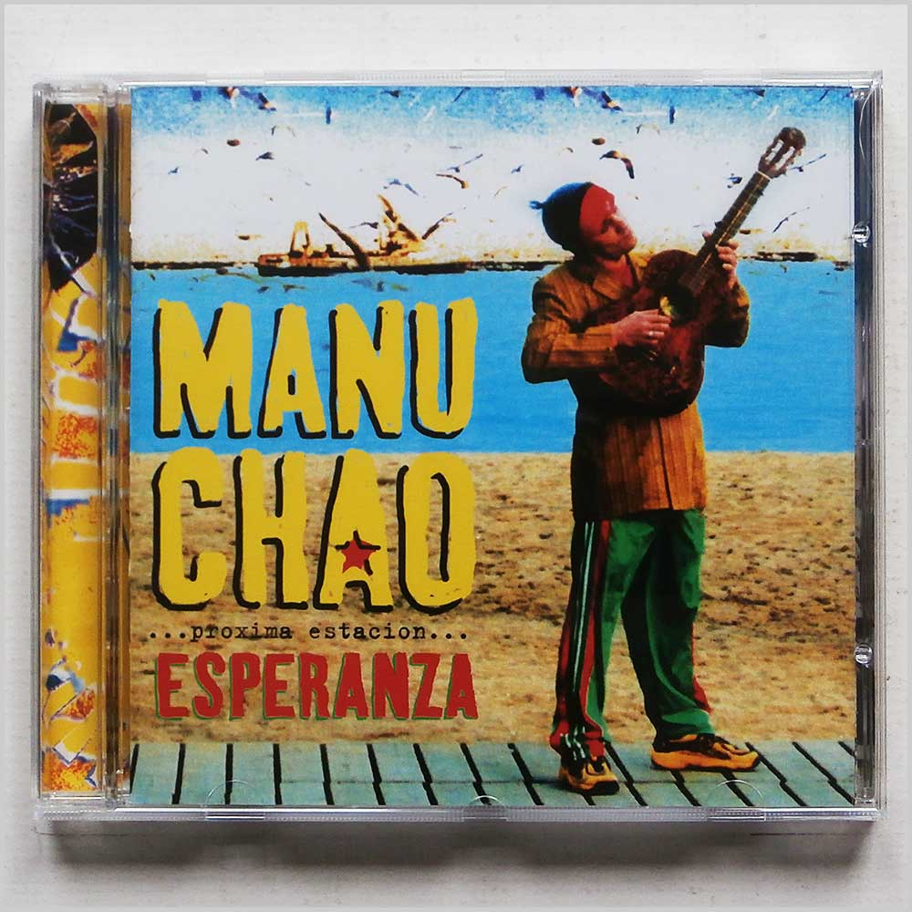 Manu Chao Esperanza (Vinyl Records, LP, CD) on CDandLP