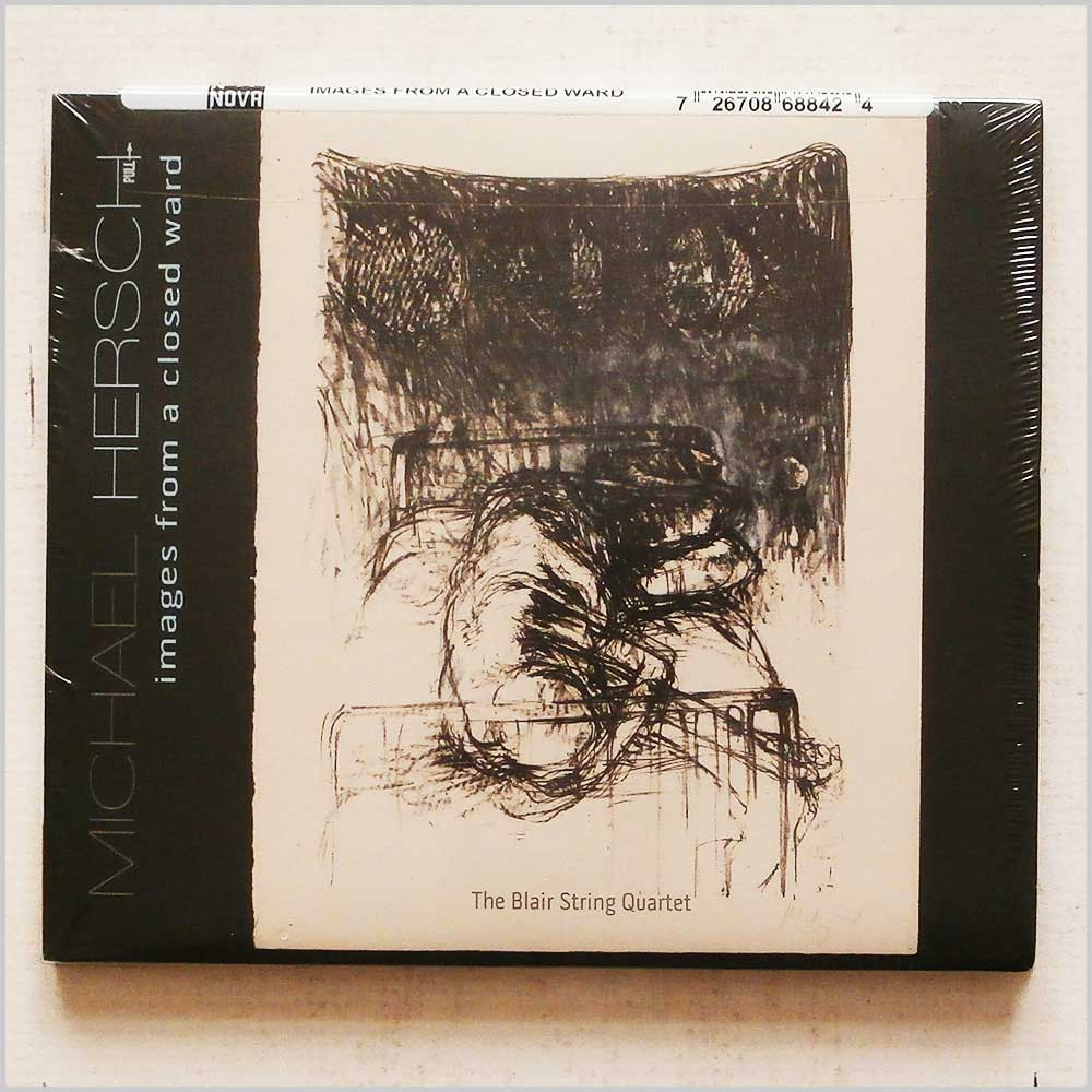 THE BLAIR STRING QUARTET - Michael Hersch: Images From A Closed Ward - CD