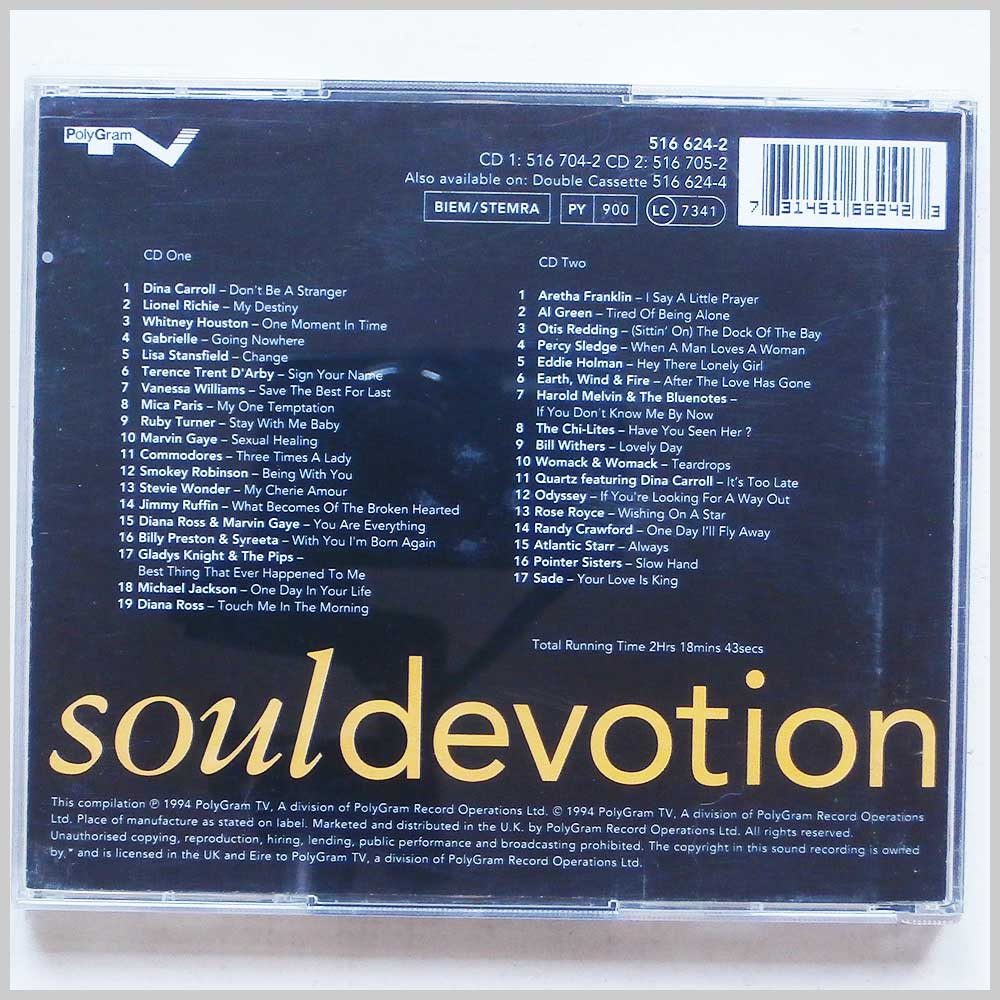 Various - Soul Devotion (731451662423)