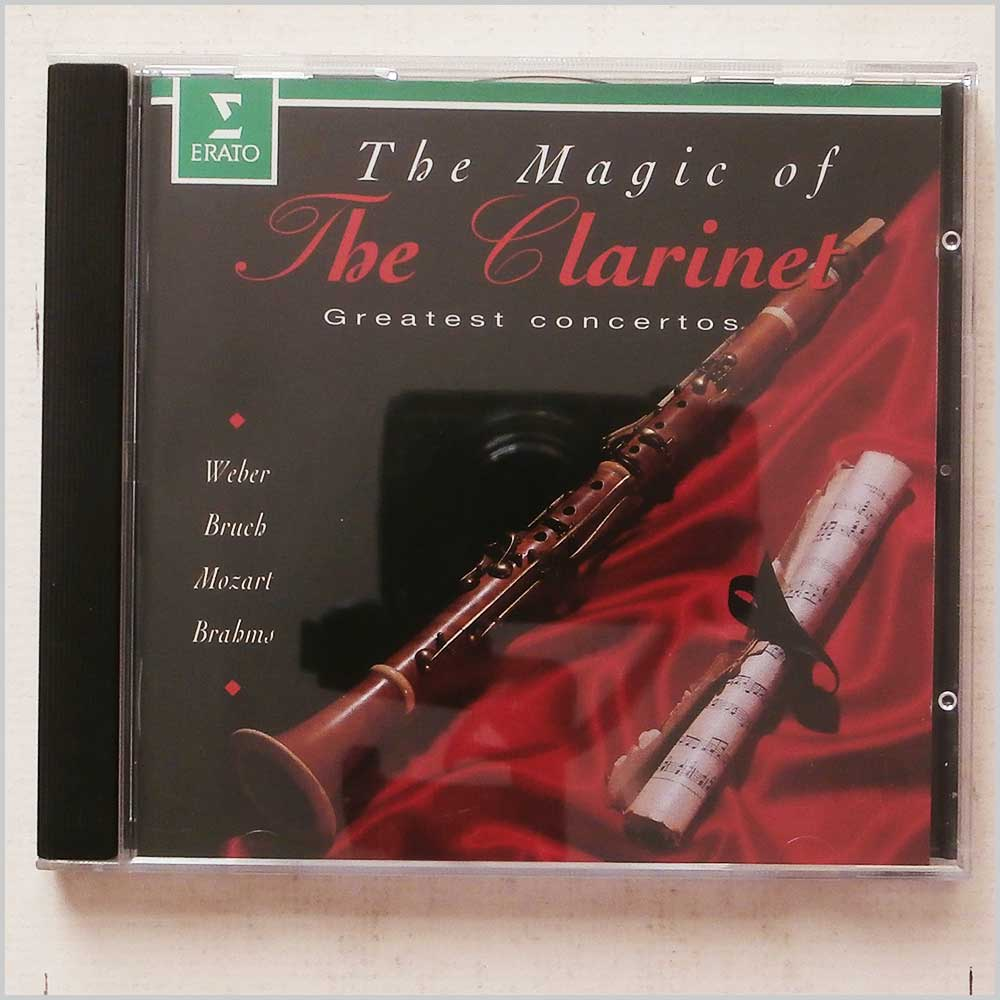 Various - The Magic of the Clarinet: Great Concertos (745099467920)