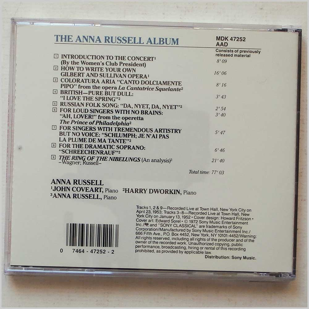 Anna Russell - The Anna Russell Album (74644725223)