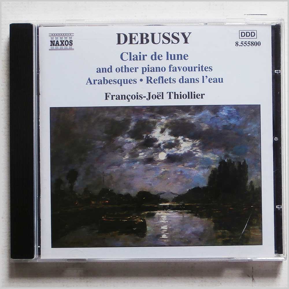Francois-Joel Thiollier - Debussy: Clair de Lune and other Piano Favourites (747313580026)