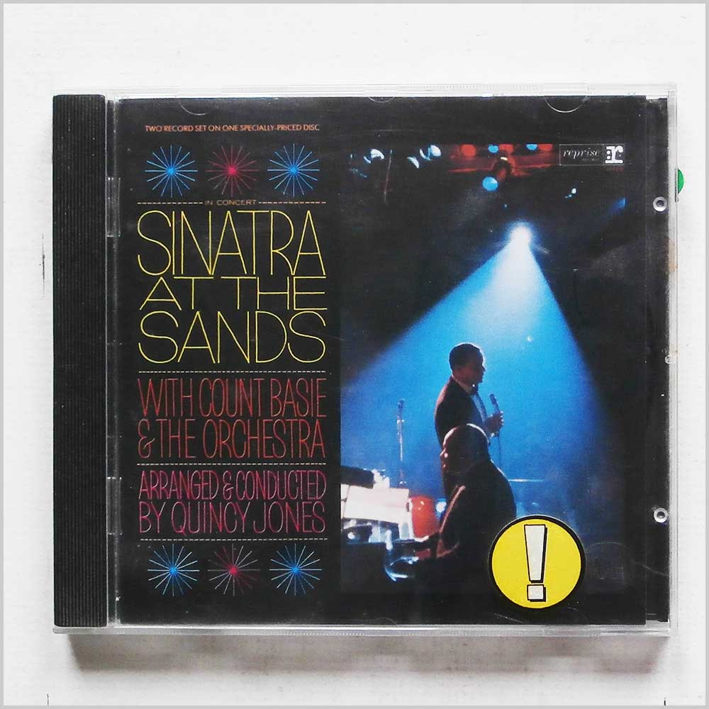 Frank Sinatra with Count Basie and The Orchestra - Sinatra At The Sands (75992703727)