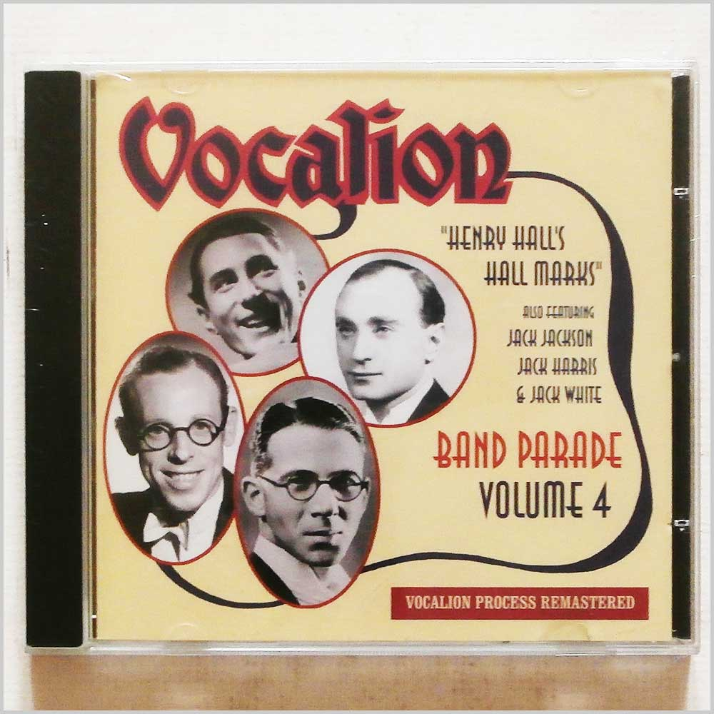 Various - Vocalion Volume 4: Henry Hall's Hall Marks: Band Parade (765387617523)