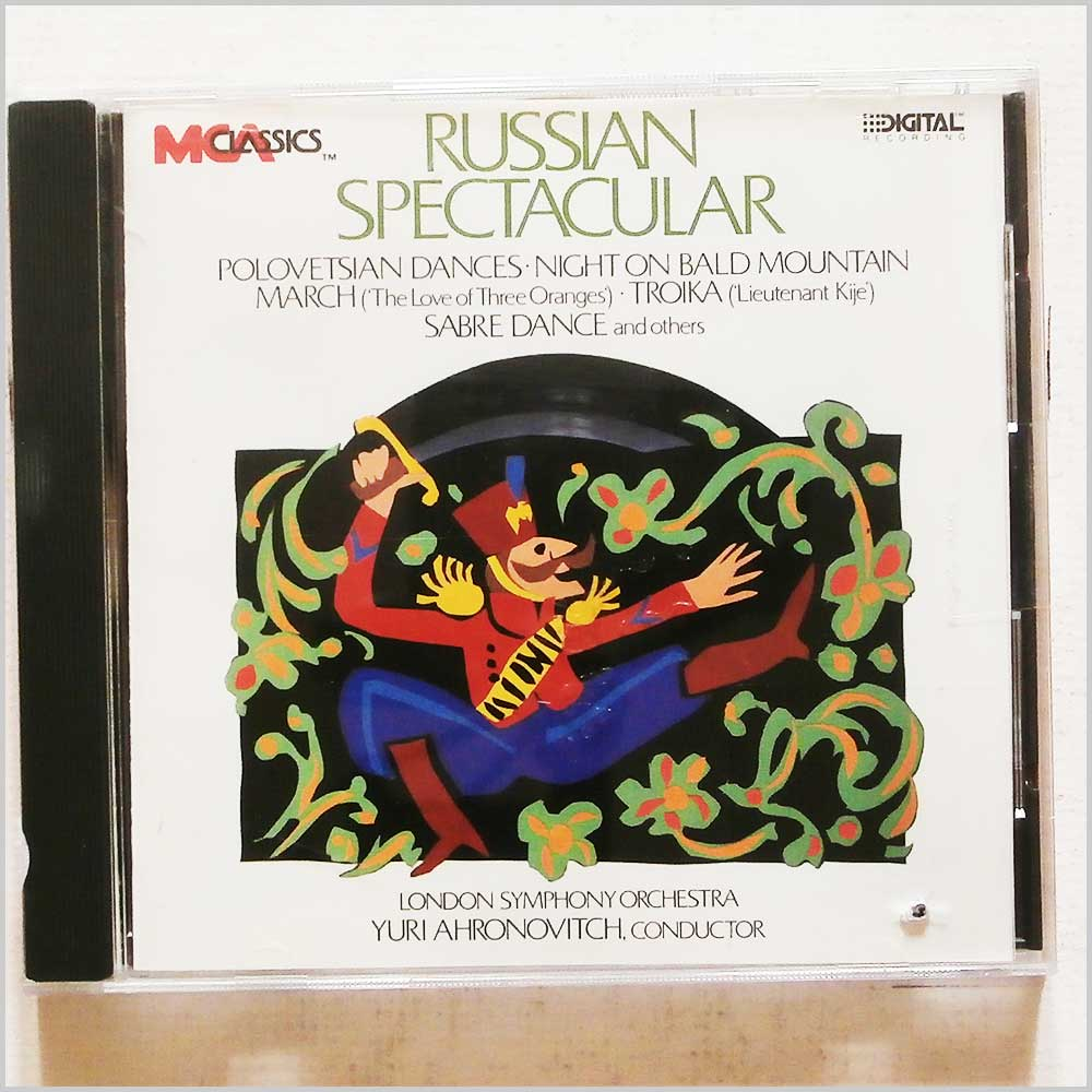 Yuri Ahronovitch and London Symphony Orchestra - Russian Spectacular (76732585320)