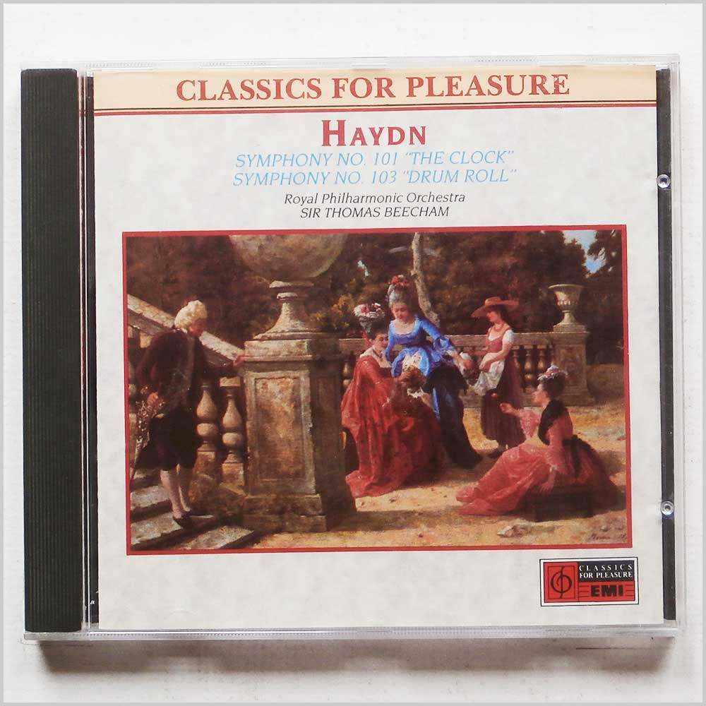 Sir Thomas Beecham, Royal Philharmonic Orchestra - Haydn: Symphony 101 and Symphony 103 (77776257921)