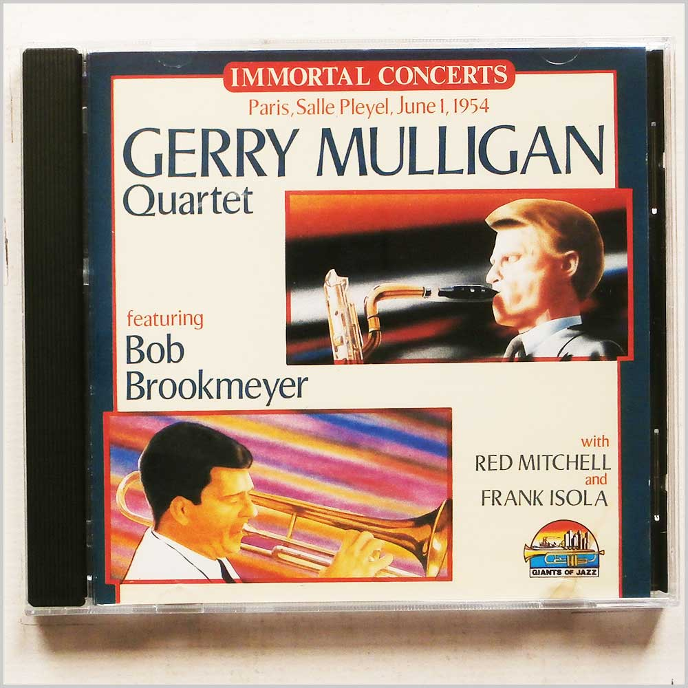 Gerry Mulligan featuring Bob Brookmeyer - Immortal Concerts: Paris, Salle Pleyel, June 1, 1954 (8004883530205)