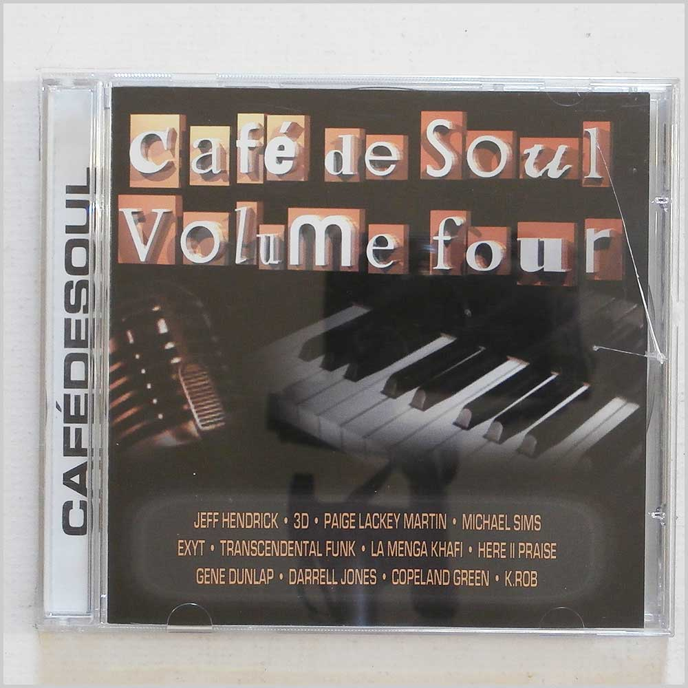 Various - Cafe De Soul Volume Four (801082017326)