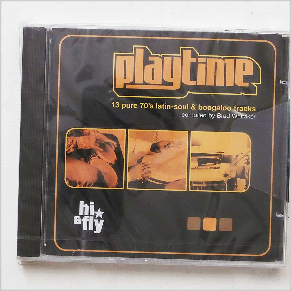 Various - Playtime 13 Pure 70's Latin-Soul and Boogaloo Tracks (802860100223)