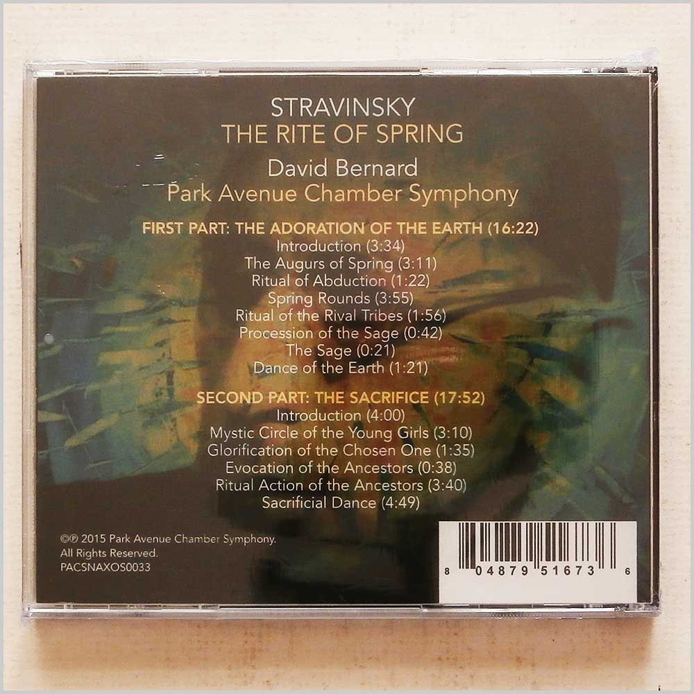 David Bernard, Park Avenue Chamber Symphony - Stravinsky: The Rite Of Spring (804879516736)