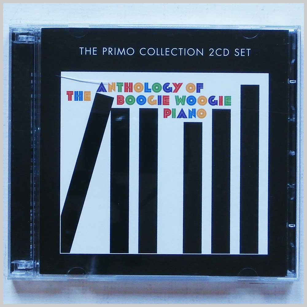 Various - The Anthology Of The Boogie Woogie Piano (805520090445)