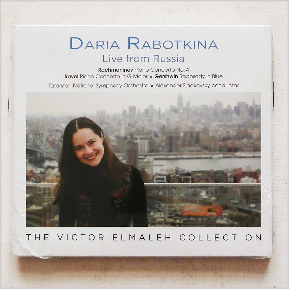 DARIA RABOTKINA - Live from Russia - CD