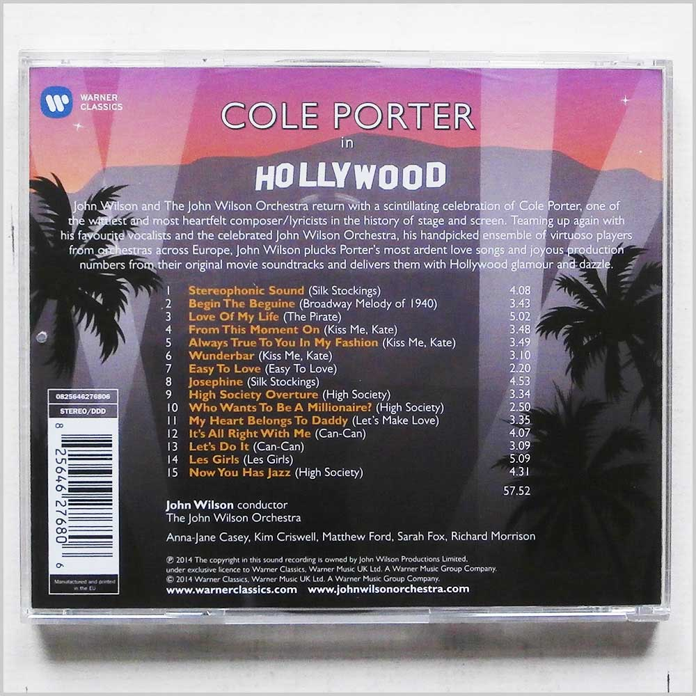 The John Wilson Orchestra - Cole Porter in Hollywood (825646276806)