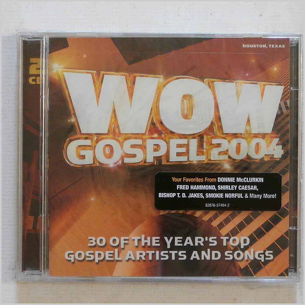 Various - Wow Gospel 2004: 30 of the Year's Top Gospel Artists and Songs (828765749428)