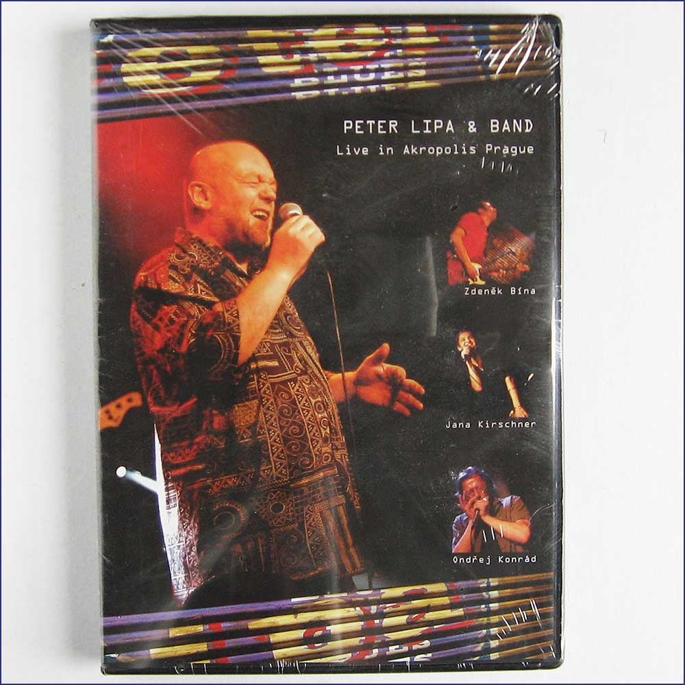 LIPA PETER AND BAND - Live In Akropolis Prague DVD - DVD