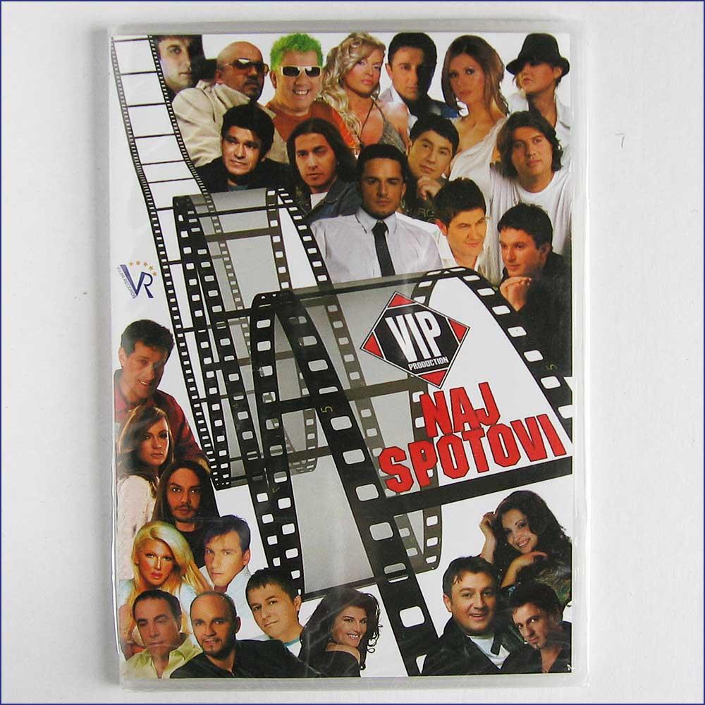 VARIOUS - Naj Spotovi - DVD
