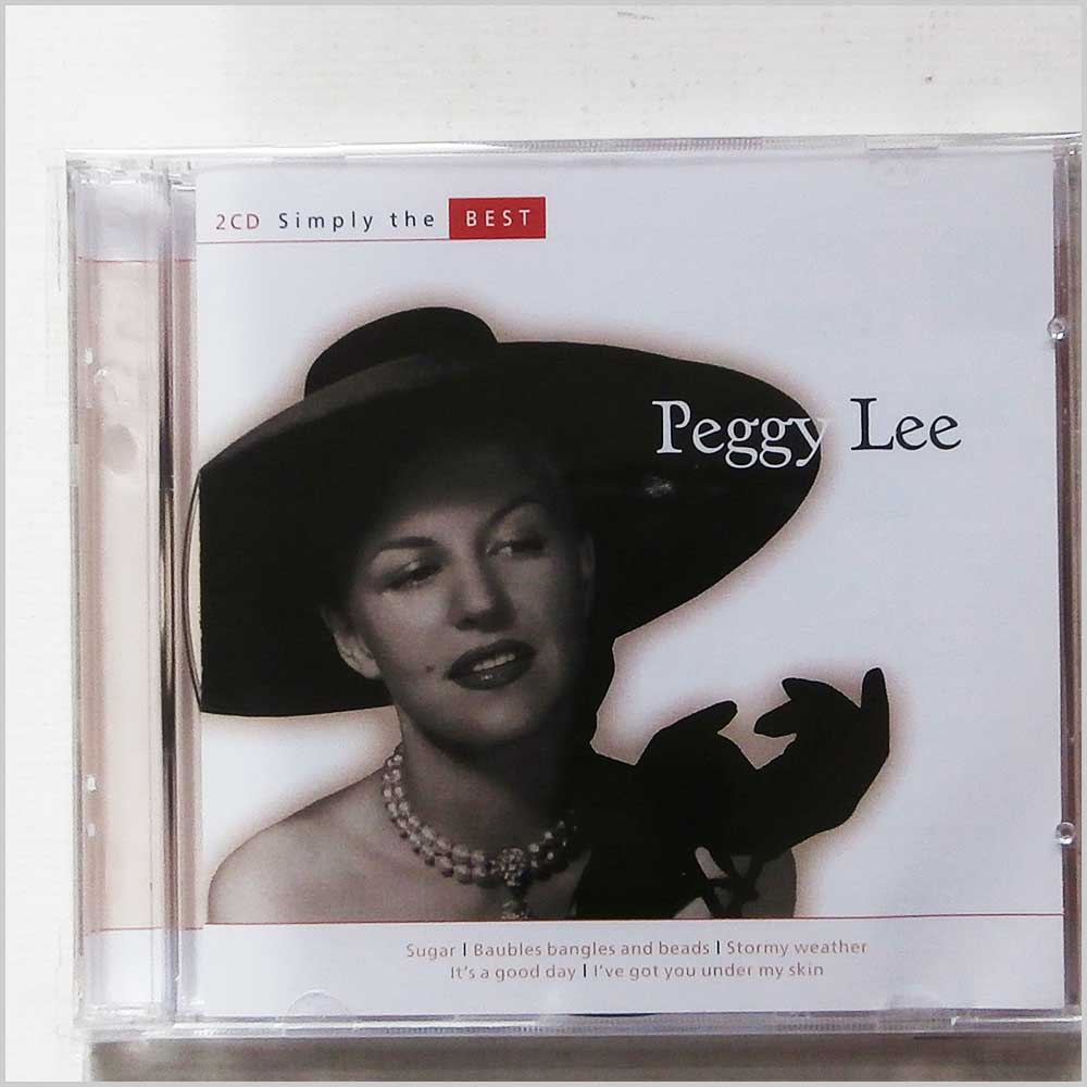 PEGGY LEE - Simply The Best - CD