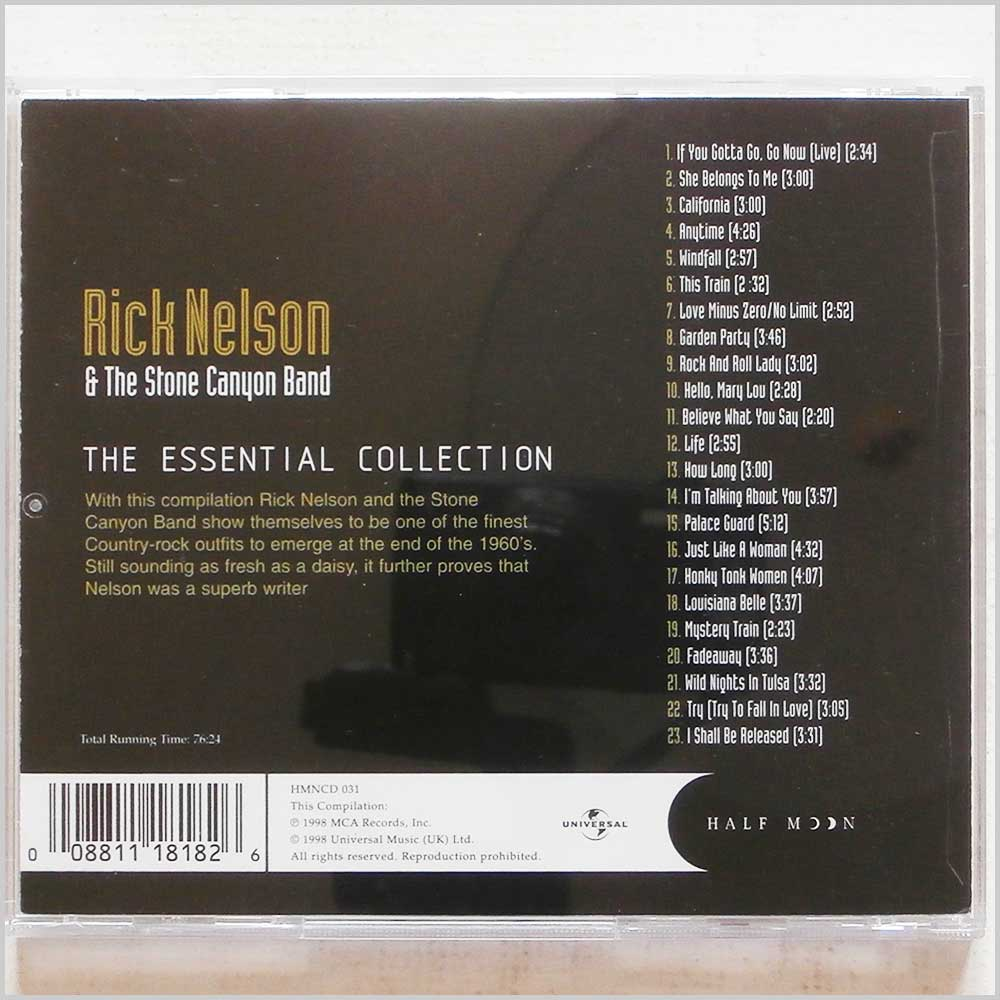 Ricky Nelson and The Stone Canyon Band - The Essential Collection (8811181826)