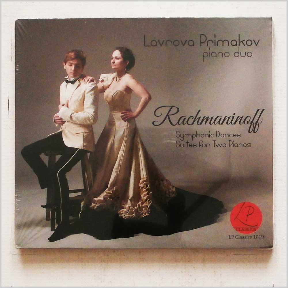 LAVROVA PRIMAKOV PIANO DUO - Rachmaninoff: Symphonic Dances,Suites for Two Pianos - CD