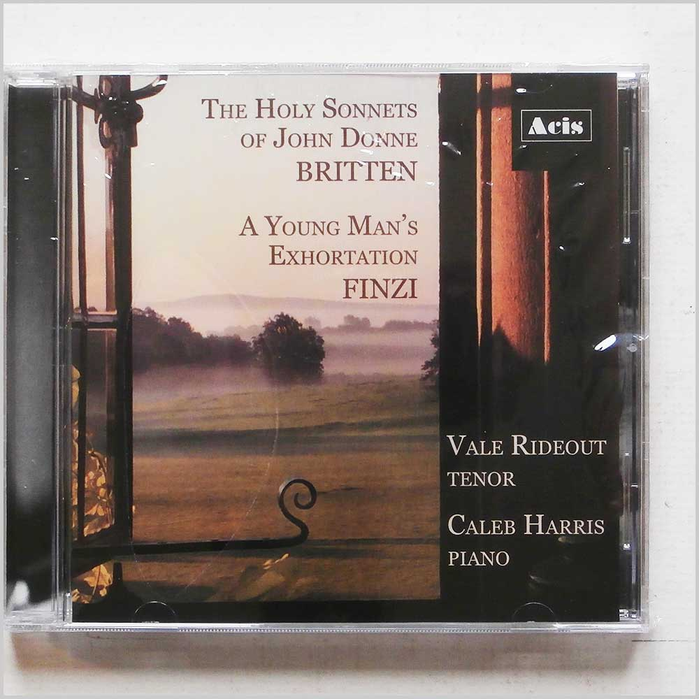 Vale Rideout, Caleb Harris - Britten: The Holy Sonnets of John Donne, Finzi: A Young Man's Exhortation (889211234448)