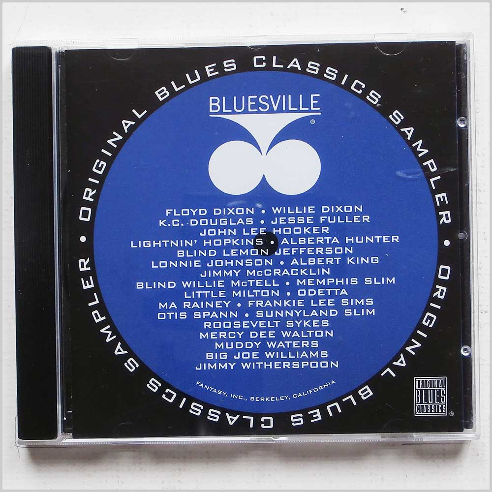 Various Artists - Bluesville: Original Blues Classics Sampler
