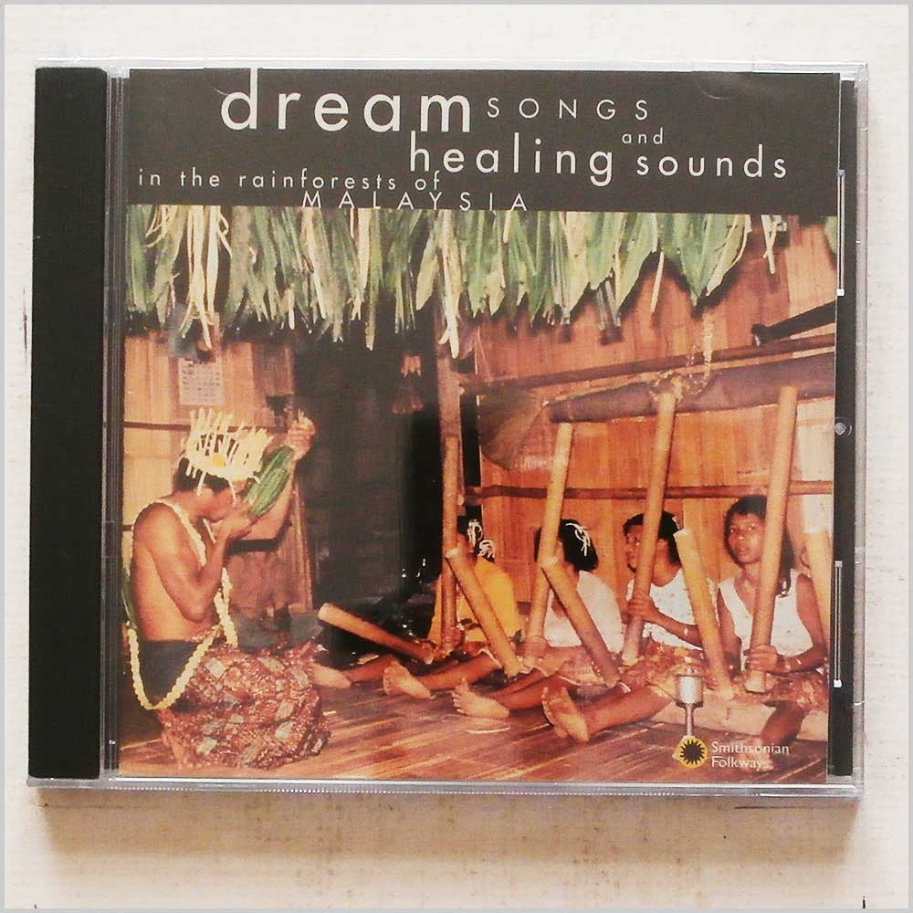MARINA ROSEMAN - Dream Songs and Healing Sounds: In The Rainforests Of Malaysia - CD