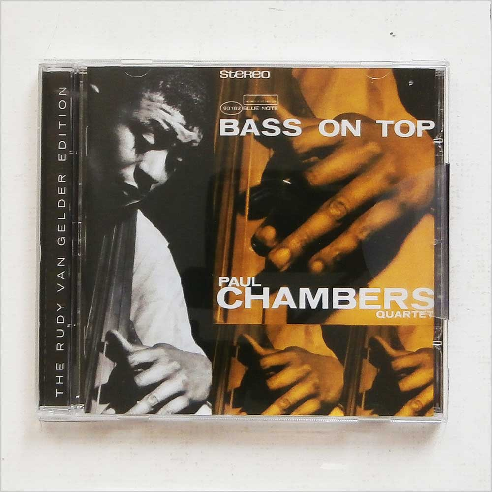 PAUL CHAMBERS - Bass On Top Original Recording Remastered - CD